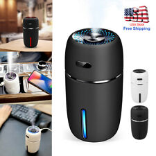 Portable USB LED Mini Car Home Humidifier Aroma Oil Diffuser Mist Purifier US