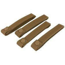 "Lot of 4 Condor 6"" Inch Molle MOD Straps Coyote Brown #224"