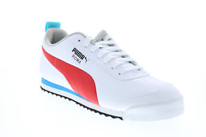 Puma Roma Game 38168801 Mens White Synthetic Lifestyle Sneakers Shoes
