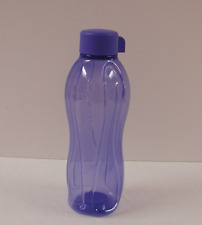 Tupperware Water Bottle 25 oz Tumbler & Screw Top Cap Lupine Blue Color New