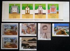 Portugal Azores Acores 1982 - 1999 MNH** 3 complete sets (one booklet)