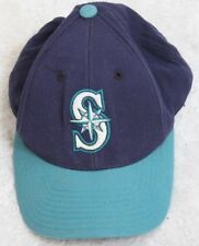 Puma Seattle Mariners Blue Baseball Hat Adult Men's Solid Cap Snap Back One Size