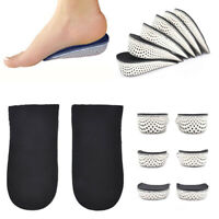 1Pair Insole Heel Lift Insert Shoe Pad Height Increase Cushion Elevator Taller