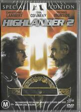 HIGHLANDER 2 - SEAN CONNERRY  -  NEW REGION 4 DVD FREE LOCAL POST