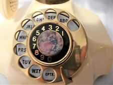 ROTARY TELEPHONE LOVE STORY MOTIF ON DIAL MADE JAPAN 1968