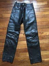 Pantalon en cuir noir taille 40 type levis 501 homme