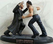 Wolverine & Sabertooth figurine from WOLVERINE: X-Men Origins Blu-ray release