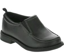 Healthtex Toddler Boys Dress Shoe Black size 9 Cushioned Arch Support nonmarking