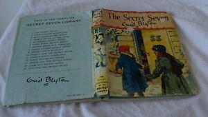 The Secret Seven, hardcover with dustjacket ENID BLYTON  1972 (15th impression)