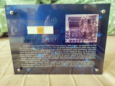 Vintage Rare Intel 8080 First usable CPU Exhibition frame, Not include CPU