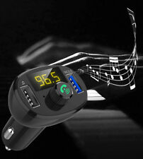 Qc3.0 Fast Charger Wireless Bluetooth Fm Transmitter Car Mp3 Player Radio Adapte