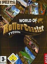 World of Rollercoaster Tycoon Deluxe 6 GIOCHI USATO OTTIMO STATO