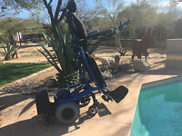 Redman 400lb user stand reclining pwr chair with pwr leg elev & pwr telescope