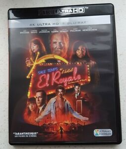 "4K ULTRA HD + Blu-ray "" Sale Temps à l'hôtel EL ROYALE   ""  ."