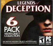 CONTRACT WITH THE DEVIL Hidden Object LEGENDS OF DECEPTION 6 PACK PC Game NEW