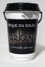 Cirque du Soleil ZARKANA Plastic Cup Container w/ Lid & Handle