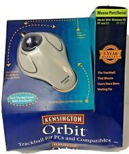 New listing Kensington Orbit 64221 Trackball Mouse for Pc's New