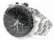 Seiko Flightmaster Sportura Pilot Chronograph Men's Watch SNAE99P1