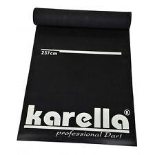 Dartmatte schwarz 290 x 60 cm Soft Dart Steeldart Teppich Matte Dartteppich NEU