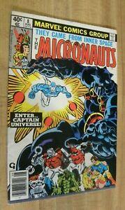 Marvel Micronauts 8 1st Appearance Captain Universe