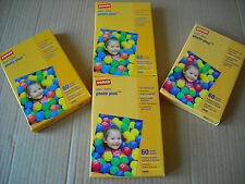 """NEW Staples Photo Paper Photo Plus Gloss 4"""" x 6"""" 240 sheets Factory Sealed 4 X 6"""