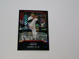 2004 Bowman Chrome X-Fractors #84 Barry Zito #D /172 RARE !!
