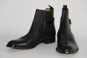 HUGO BOSS CHELSEA BOOTS, Mod. Cardiff_Cheb_ltbn, Gr. 45,5 / UK 11.5  Dark Brown