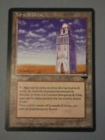 MtG Magic: the Gathering Italian Renaissance Common Urza's Tower Plains AN3 NM