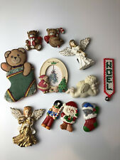 Random Assorted Holiday Magnets Lot