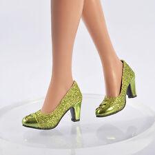 "Sherry Green Matte 16"" Tonner Ellowyne Wilde Shoes Sandals Clothes Doll 96ES03"