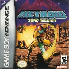 Metroid: Zero Mission - Game Boy Advance GBA Game