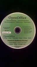 Open Office Paket 2015 Schreibprogramm​ u.v.m. für Microsoft Windows XP, 7, 8,10