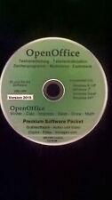Open Office Paket 2015 Schreibprogramm u.v.m. für Microsoft Windows XP, 7, 8,10