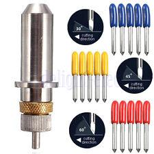 15X 30°/45°/60° Lame Per Roland Blades Cricut Cutting Plotter Cutter+Supporto DB