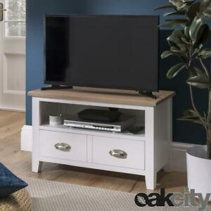 Nebraska Oak 80cm Small TV Unit For Screens Up To 38 inch