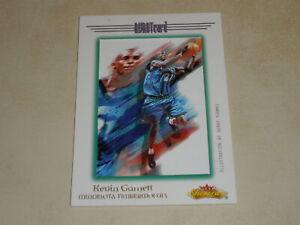 2000-01 Fleer Showcase Avant Card #4 Kevin Garnett 047/201