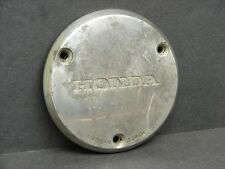 Vintage Honda SL350 SL175 CL175 CB175 Stator Magneto Inspection Side Cover A58