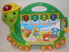 Touch & Teach Turtle Learning Music Sounds Lights Story Preschool Educational