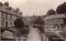 Memorial Fore Street Beer Nr Seaton RP old pc used 1933 Empire View Donlion