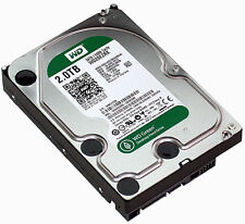 "Western Digital WD Green 2TB, Internal 7200RPM, 3.5"" WD20EZRX HDD Used"
