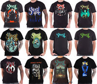 Official Ghost T Shirt Meliora Opus eponymous band logo Prequelle new mens