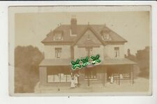 More details for photo? postcard ; childe okeford co operative store - nr blandford - duplex 1906