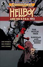 Halloween Comicfest Hcf 2017 Helboy & Bprd 1953 Giveaway Promo Nm