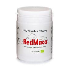 rote MACA RED MACA - KAPSELN 100 Stk. à 1000mg (BIO RED MACA®) - Inkanatura ®