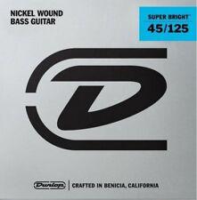 Dunlop Super Bright Nickel 5-string Bass Strings 45-125 DBSBN45125