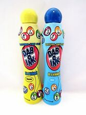 Bingo Daubers Markers Dab-O-Ink Four Ounce Yellow And Blue