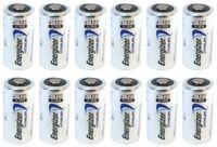 12 Energizer 3V Lithium CR123A Batteries for Camera, Flashlight etc