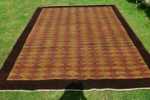 Authentic Khashkhuli Gabeh Natural Vegetable Dye Soft forTraffic Area Square Rug