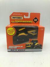 Matchbox CAT Mini Power Machines Challenger AG Tractor Yellow