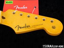 "2018 USA Fender ERIC  JOHNSON Stratocaster Strat NECK 12"" Radius Maple Nitro"